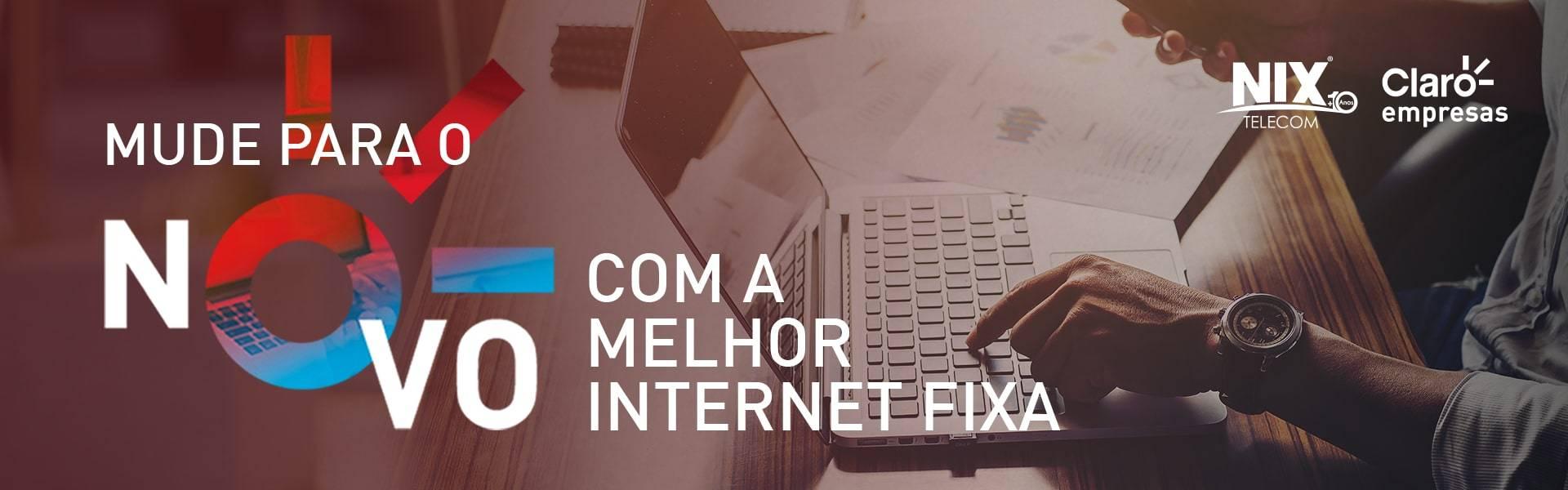 Internet fixa - Nix Telecom