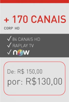 Plano TV corporativo